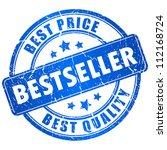 bestseller vector stamp | Shutterstock .eps vector #112168724
