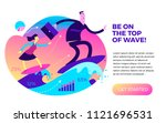 business infographics with... | Shutterstock .eps vector #1121696531