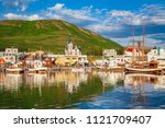 scenic view of the historic... | Shutterstock . vector #1121709407