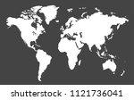 color world map  | Shutterstock .eps vector #1121736041