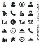 set of vector isolated black... | Shutterstock .eps vector #1121746235