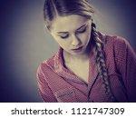 adolescence problems concept....   Shutterstock . vector #1121747309