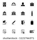 vector business  office and... | Shutterstock .eps vector #1121766371