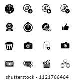 vector social media and... | Shutterstock .eps vector #1121766464