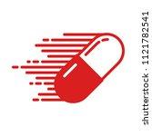 medicine icon quick capsule...