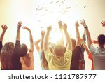 nightlife and disco concept.... | Shutterstock . vector #1121787977