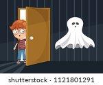 vector illustration of kid... | Shutterstock .eps vector #1121801291