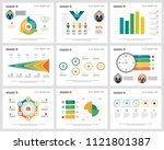 colorful finance or management... | Shutterstock .eps vector #1121801387