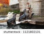 vienna  austria   november 3 ... | Shutterstock . vector #1121802131