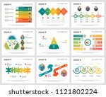 colorful workflow or research...   Shutterstock .eps vector #1121802224