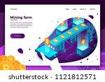 vector concept illustration   ... | Shutterstock .eps vector #1121812571