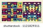 abstract geometric design....   Shutterstock .eps vector #1121829311