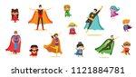 vector illustrations in flat... | Shutterstock .eps vector #1121884781