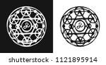 sacred geometry sign   symbol   ...   Shutterstock .eps vector #1121895914