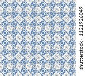 seamless vector decorative... | Shutterstock .eps vector #1121926049