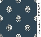 seamless vector decorative... | Shutterstock .eps vector #1121926055