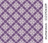 seamless vector decorative... | Shutterstock .eps vector #1121926109