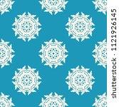 seamless vector decorative... | Shutterstock .eps vector #1121926145