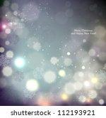 elegant christmas background... | Shutterstock .eps vector #112193921