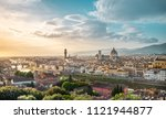 florence   italy  panorama of... | Shutterstock . vector #1121944877