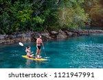 summer holidays vacation travel....   Shutterstock . vector #1121947991