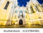 budapest  hungary   december 18 ... | Shutterstock . vector #1121984381