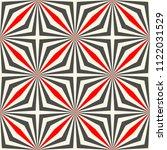 seamless square design. optical ... | Shutterstock .eps vector #1122031529