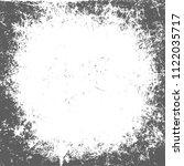 round grunge  black and white...   Shutterstock .eps vector #1122035717