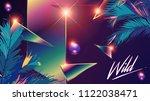 retro   modern 1980 chrome...   Shutterstock .eps vector #1122038471