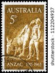 Australia   Circa 1965  A Stam...