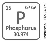 periodic table element... | Shutterstock .eps vector #1122052421