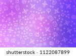light purple vector cover with... | Shutterstock .eps vector #1122087899