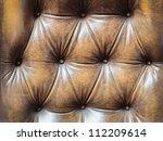 Detail Of An Old Vintage Brown...