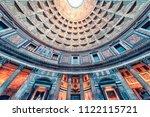 spetember 2017   rome  italy  ... | Shutterstock . vector #1122115721