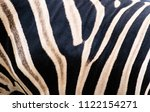 Beautiful Pattern Of Zebra Skin.