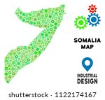 gear somalia map collage of... | Shutterstock .eps vector #1122174167