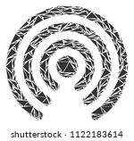 airdrop source mosaic of... | Shutterstock .eps vector #1122183614