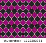 ethnic mosque vector seamless... | Shutterstock .eps vector #1122203381
