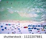 overhead santa rosa beach fl | Shutterstock . vector #1122207881