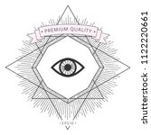 eye symbol icon | Shutterstock .eps vector #1122220661