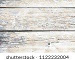 vintage white wooden background ... | Shutterstock .eps vector #1122232004