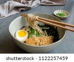 homemade japanese cuisine  ...   Shutterstock . vector #1122257459