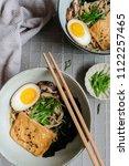 homemade japanese cuisine  ...   Shutterstock . vector #1122257465