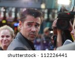 Small photo of BERLIN, GERMANY - AUGUST 13: Colin Farrell attends the German premiere of 'Total Recall' at Sony Center on August 13, 2012 in Berlin, Germany