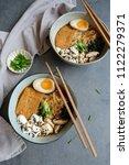 homemade japanese cuisine  ...   Shutterstock . vector #1122279371