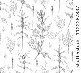 seamless floral pattern... | Shutterstock .eps vector #1122287837