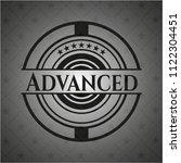 advanced retro style black... | Shutterstock .eps vector #1122304451