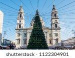 budapest  hungary   december 17 ... | Shutterstock . vector #1122304901