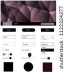 dark purple vector style guide...