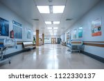 hallway the emergency room and...   Shutterstock . vector #1122330137